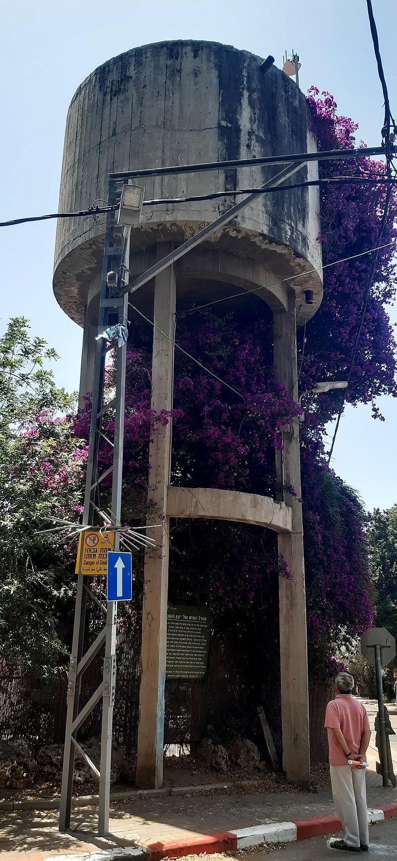 מגדל המים באביחיל