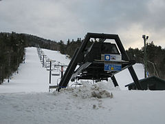 The Pine Quad Chairlift
