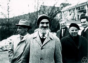 George Piranian - George Piranian (pictured in center) at Oberwolfach (1961)