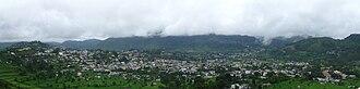 Malpa landslide - Pithoragarh valley Panoramic view