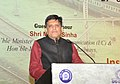 Piyush Goyal addressing at the inauguration of the International Conference on Green Initiatives & Railway Electrification, organised by the Ministry of Railways through Institution of Railways Electrical Engineer (IREE).jpg