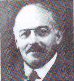 University of Dhaka - Philip Joseph Hartog, the first Vice Chancellor of the University of Dhaka