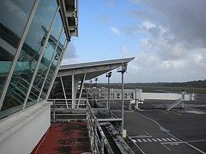 Cayenne – Félix Eboué Airport - Image: Plateformerochambeau