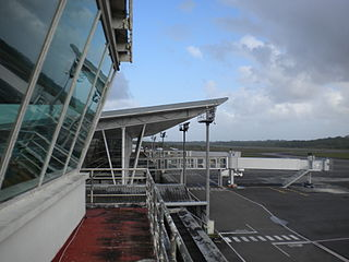 Cayenne – Félix Eboué Airport International airport serving French Guyana