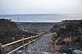 Playa Nueva in the evening, La Palma near Fuencaliente, Canary Islands 2015 - panoramio.jpg