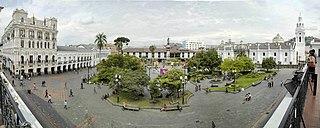 Plaza in Ecuador