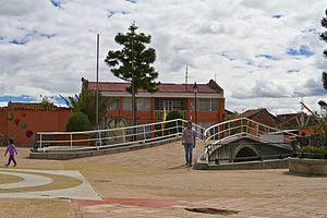 Tuta, Boyacá - Image: Plaza de Tuta