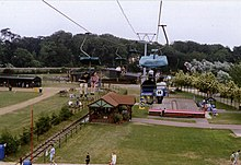 Pleasurewood Hills from the ski lift, 1990s - geograph.org.uk - 1461431.jpg