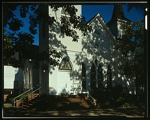 Plains, Georgia - Image: Plians Baptist Church GA 571492cr