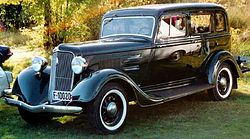 Plymouth Deluxe PE Limousine (1934)