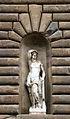 Poggio imperiale, facciata, statua di apollo ellenistica, rielaboraz. del lykeos di prassitele (testa e braccia di restauro).JPG
