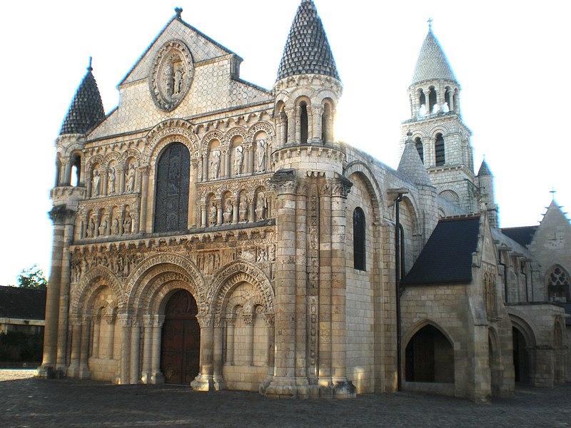 Église Notre-Dame la Grande à Poitiers