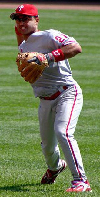 Philadelphia Phillies all-time roster (P–Q) - Image: Polanco Phillies crop