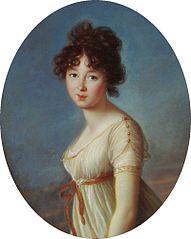 Portrait of Aniela Czartoryska nee Radziwiłł.