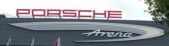 Porsche-Arena - Image: Porsche Arena Logo