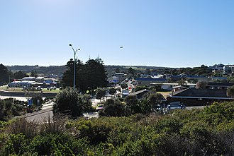Port Campbell - Image: Port Campbell from lookout