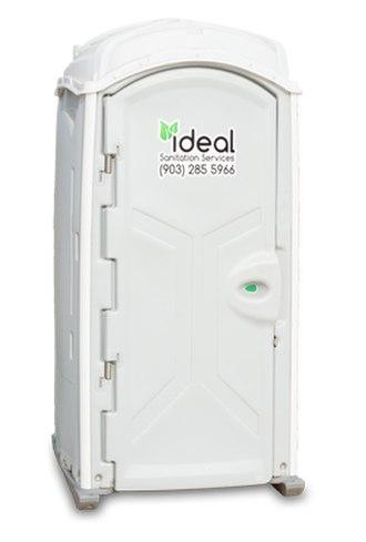 Portable toilet - A modern use portable restroom.