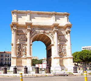 Porte d'Aix - Porte d'Aix in Marseille, France