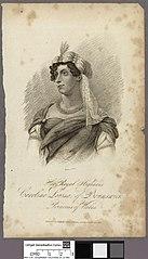 Her royal highness Caroline Louisa of Brunswick princess of Wales