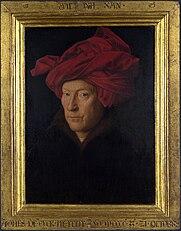 Jan van Eyck: Portrait of a Man