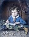 Portret van een jongen, zittend in een raamnis en gekleed in een blauw jasje Rijksmuseum SK-A-4871.jpeg