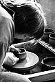 Potter at work, soup bowls (4514832971).jpg