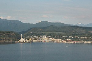 Powell River, British Columbia - Ports at Powell River