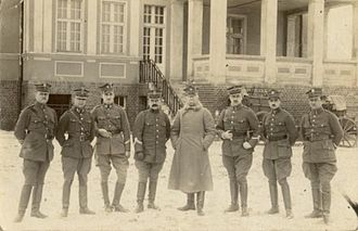 Greater Poland uprising (1918–1919) - Soldiers of the Greater Poland Army during the winter of 1919/20