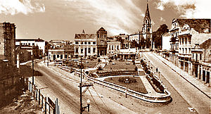 Porto Alegre - Otávio Rocha Square in 1930
