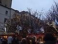 Praha, Staré Město, Staroměstské náměstí, vánoční světla.JPG