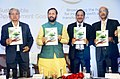 "Prakash Javadekar releasing the book on ""Sustainable Development Goals, Broadening the horizon for India's growth and transformation"", in Mumbai.jpg"