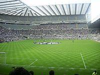 Pre-match St James' Park.JPG