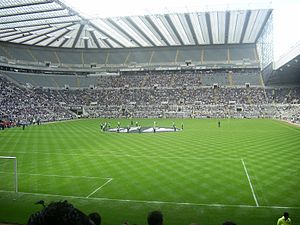 Pre-match St James' Park.JPG