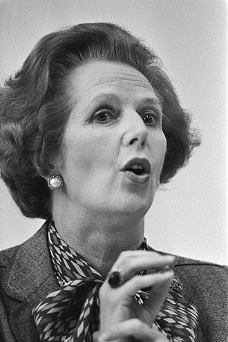 Social history of the United Kingdom (1945–present) - Margaret Thatcher (pictured in 1983) was Prime Minister of the United Kingdom from 1979-1990