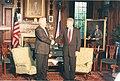 President Bill Clinton and Russian President Boris Yeltsin (9070647448).jpg