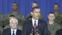 Ficheiro:President Obama's speech at Camp Lejeune on 2009-02-27.ogv