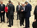President Obama and Secretary Kerry Are Greeted By Palestinian Authority President Abbas and Bethlehem Mayor Baboun.jpg