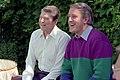 President Ronald Reagan and Brian Mulroney in Venice, Italy.jpg