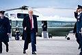 President Trump Departs for South Carolina (49608865233).jpg