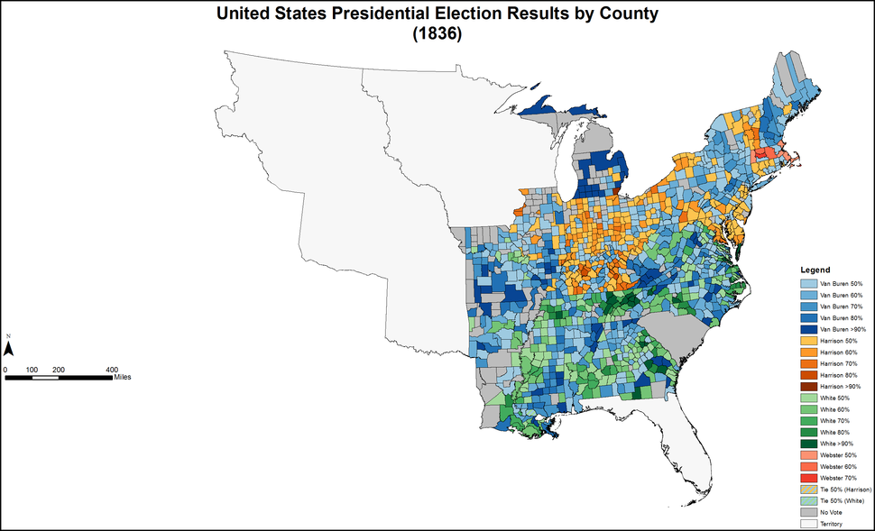 PresidentialCounty1836Colorbrewer