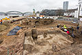 Pressekonferenz zu den archäologischen Grabungen am Rheinboulevard Köln-Deutz-5073.jpg