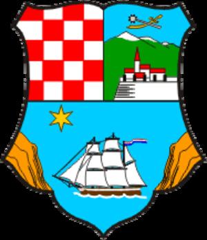 Primorje-Gorski Kotar County - Image: Primorje Gorski Kotar County coat of arms