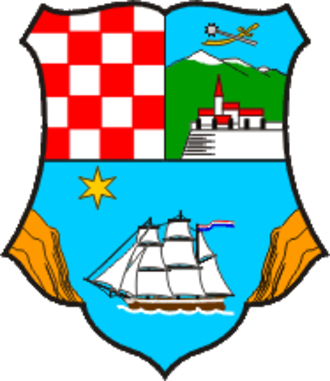 2017–18 Croatian First Football League - Image: Primorje Gorski Kotar County coat of arms