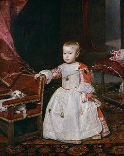 Philip Prospero, Prince of Asturias Heir apparent to the Spanish throne.