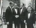 Prince Phillip of Great Britain, Richard Nixon, Bob Hope, and Carl Albert. November 24, 1969.jpg