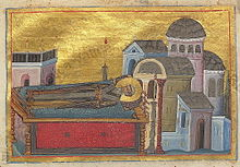 Proclus of Constantinople (Menologion of Basil II).jpg