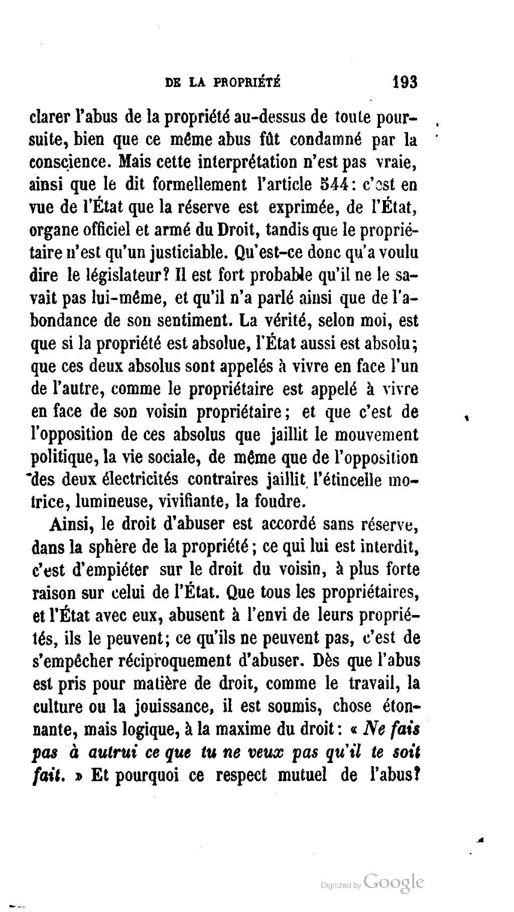 Page Proudhon Theorie De La Propriete 1866 Djvu 207 Wikisource