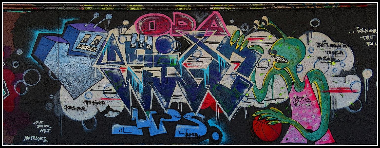 Public Graffiti Area in Wijnegem
