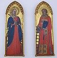 Puccio di simone, ali d'altare con santi caterina e lorenzo, 1345 ca..JPG