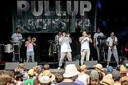 Pullup Orchestra bei Brass Wiesn 2015